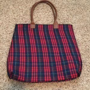 Handbags - Plaid Tote